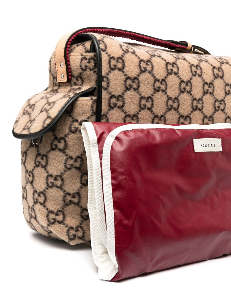 GUCCI CHILDREN: GG wool changing bag_2