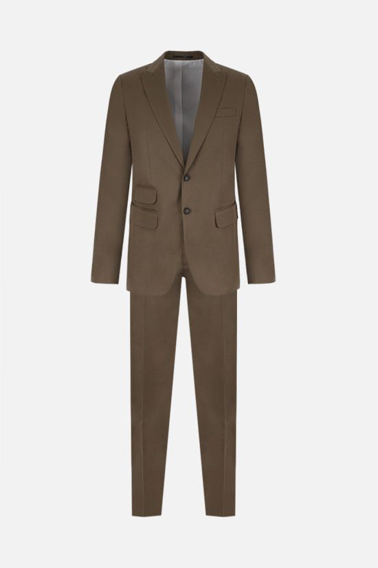 DSQUARED2: stretch cotton two-piece suit_1