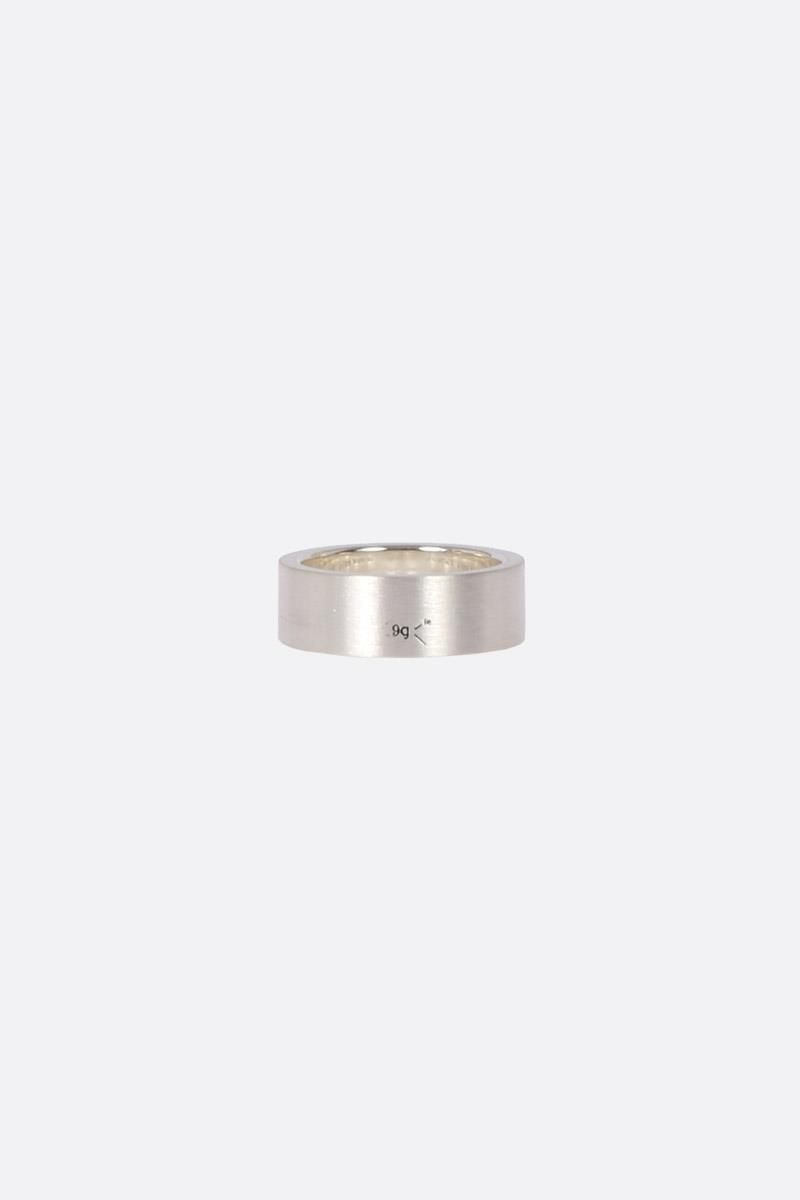 LE GRAMME: Le 9 Grammes ring Color Silver_3