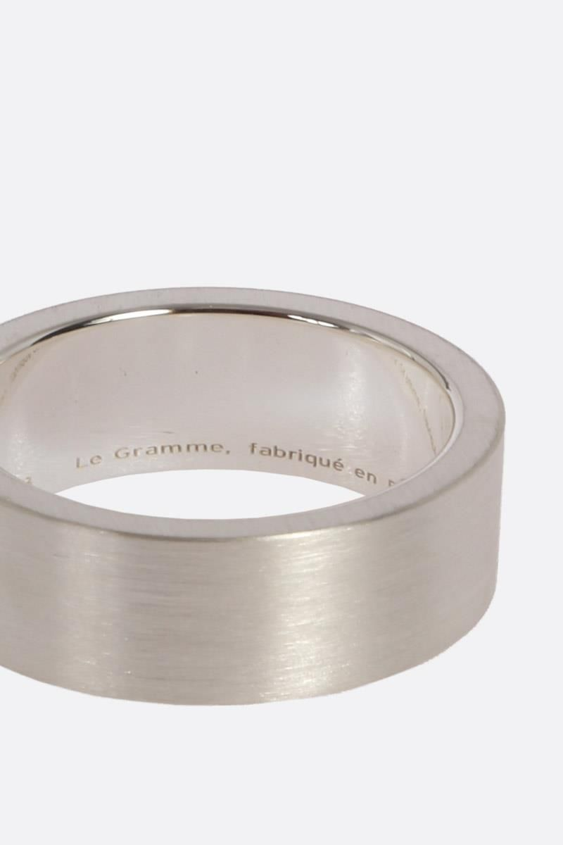 LE GRAMME: Le 9 Grammes ring Color Silver_4