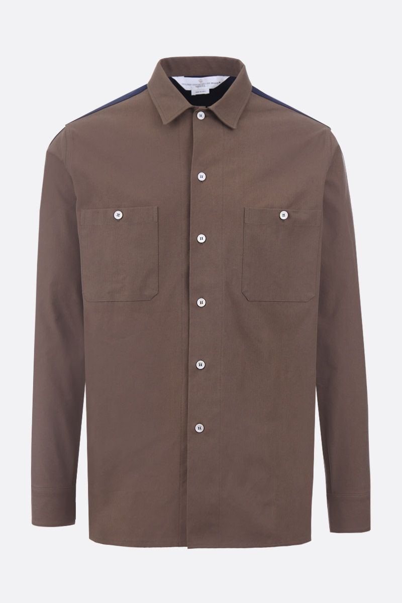 GOLDEN GOOSE DELUXE BRAND: Luke bicolor cotton shirt_1