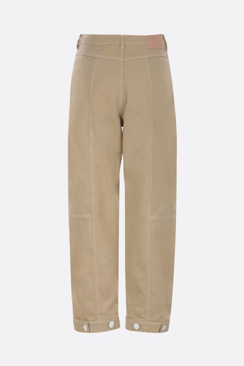 SEE BY CHLOÈ: pantalone cargo in cotone stretch_2