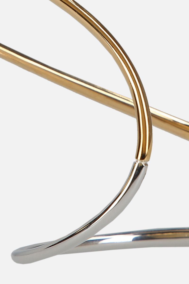 CHARLOTTE CHESNAIS: Ivy small bracelet in sterling silver and gold vermeil Color Multicolor_2