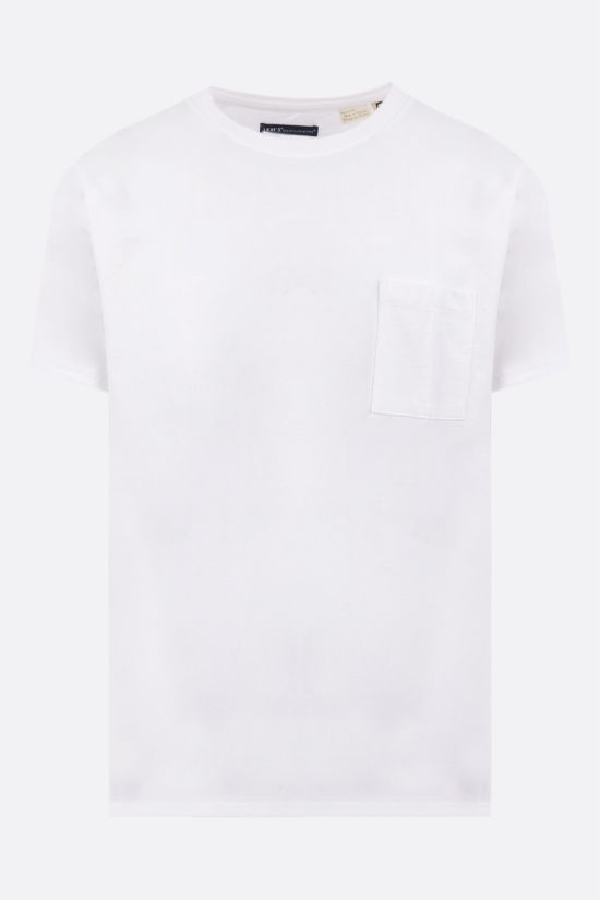 LEVI'S MADE & CRAFTED: pocket-detailed cotton t-shirt Color Neutral_1