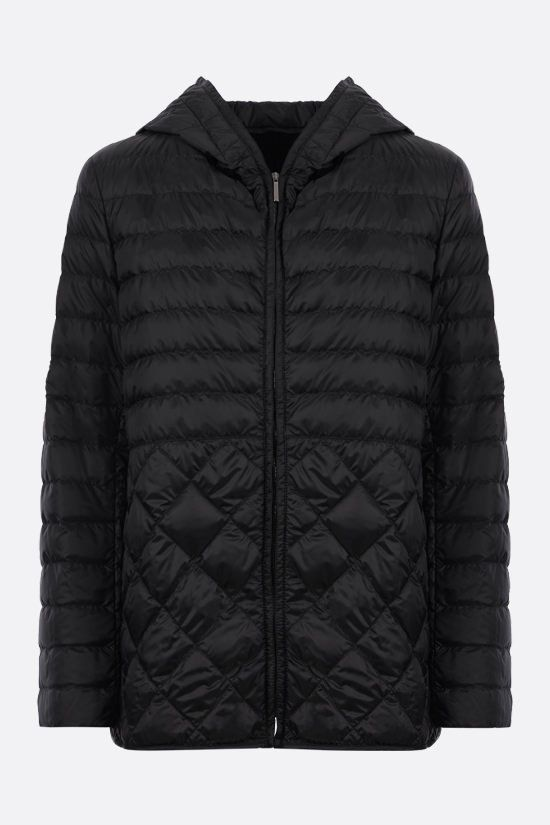 MAX MARA THE CUBE: quilted nylon down jacket Color Black_1
