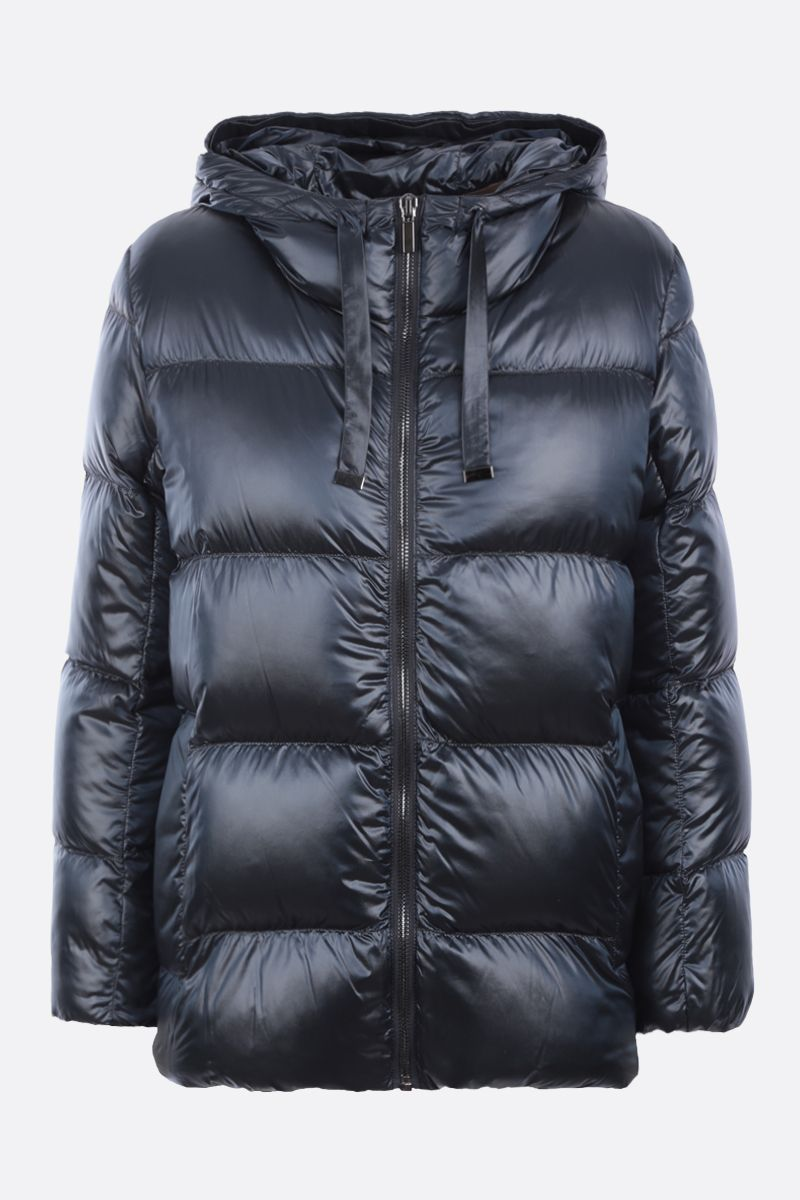 MAX MARA THE CUBE: Spacey nylon down jacket Color Blue_1