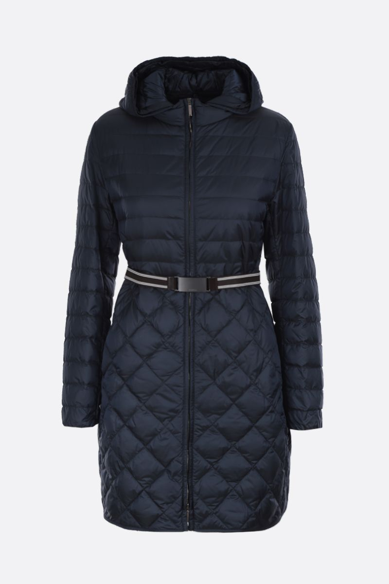 MAX MARA THE CUBE: Etrevi down jacket in nylon Color Blue_1