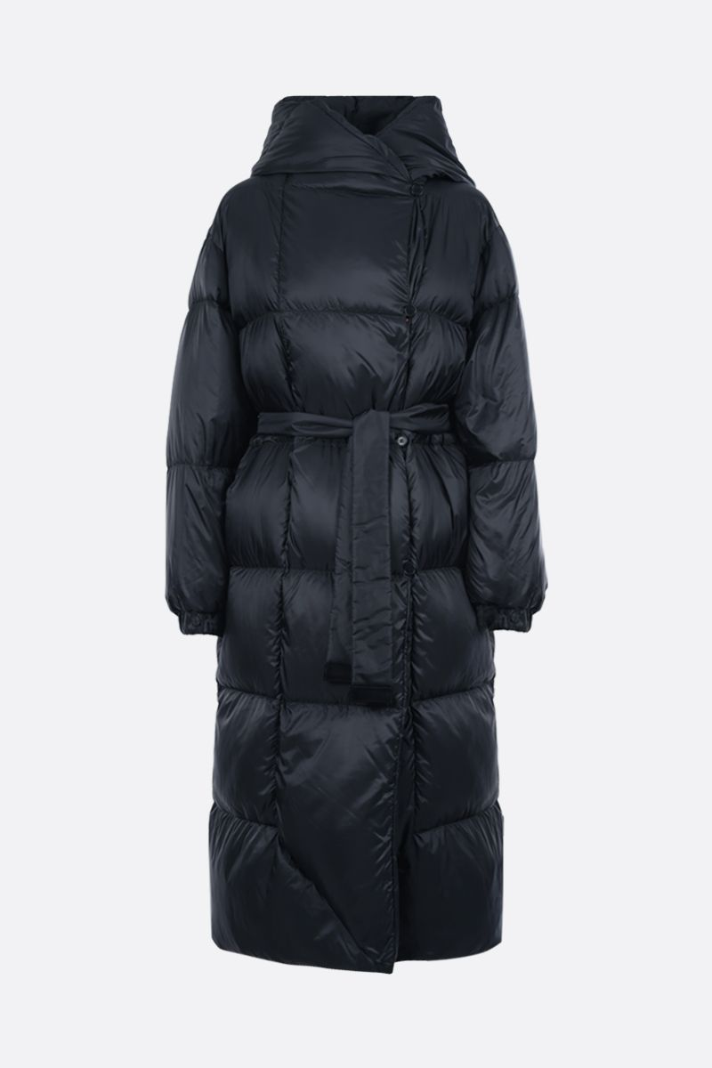 MAX MARA THE CUBE: Seico nylon down jacket Color Blue_1
