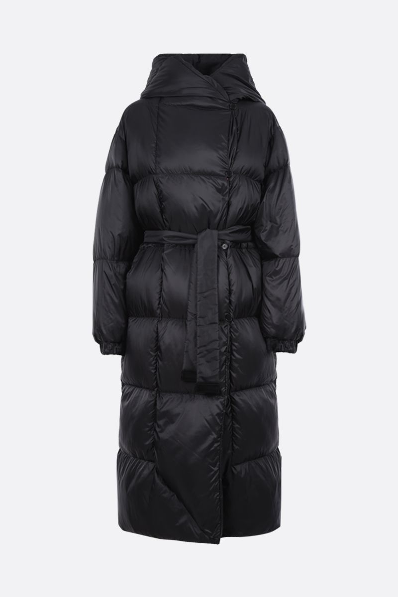 MAX MARA THE CUBE: Seico nylon down jacket Color Black_1