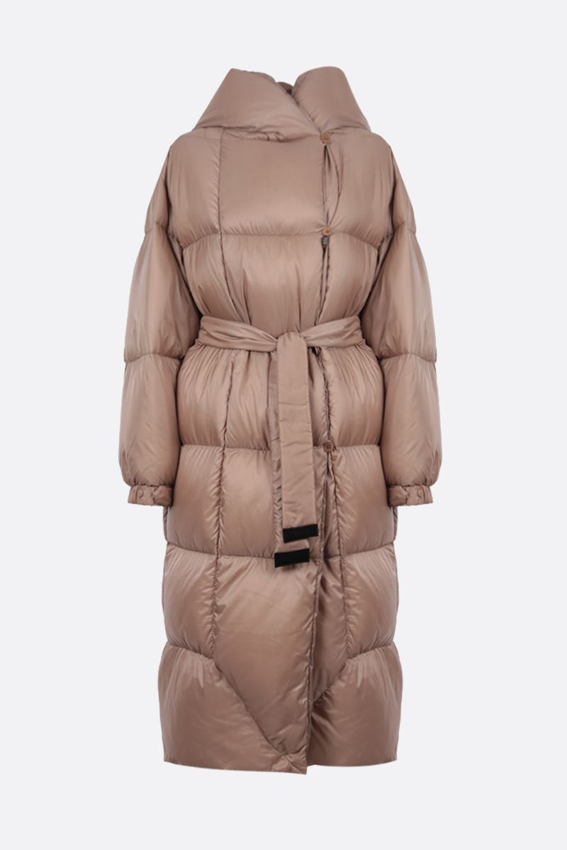 MAX MARA THE CUBE: Seico nylon down jacket Color Neutral_1