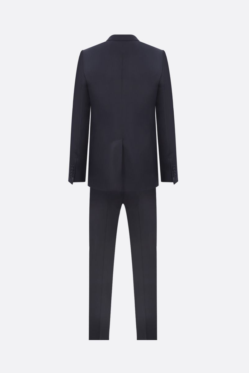DOLCE & GABBANA: two-pieces suit in lightweight wool Color Blue_2