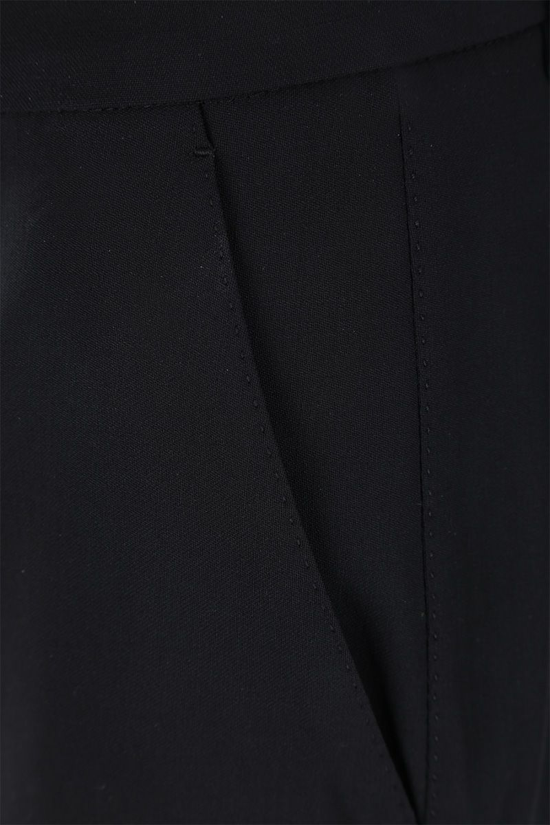 DOLCE & GABBANA: slim pants in stretch wool Color Black_3