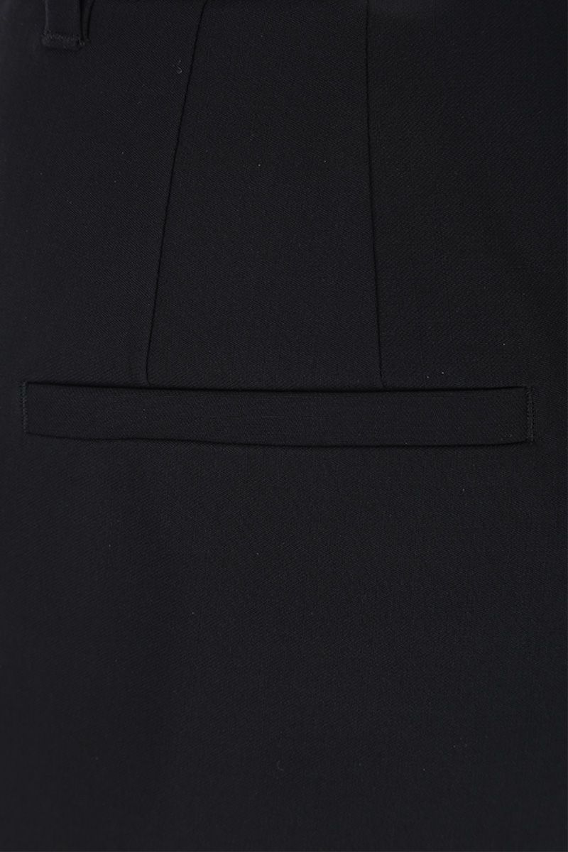 DOLCE & GABBANA: slim pants in stretch wool Color Black_4