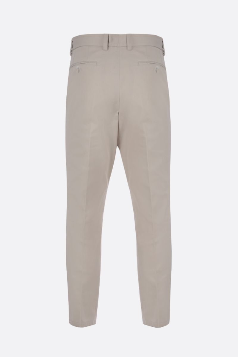 DOLCE & GABBANA: cotton darted pants Color White_2