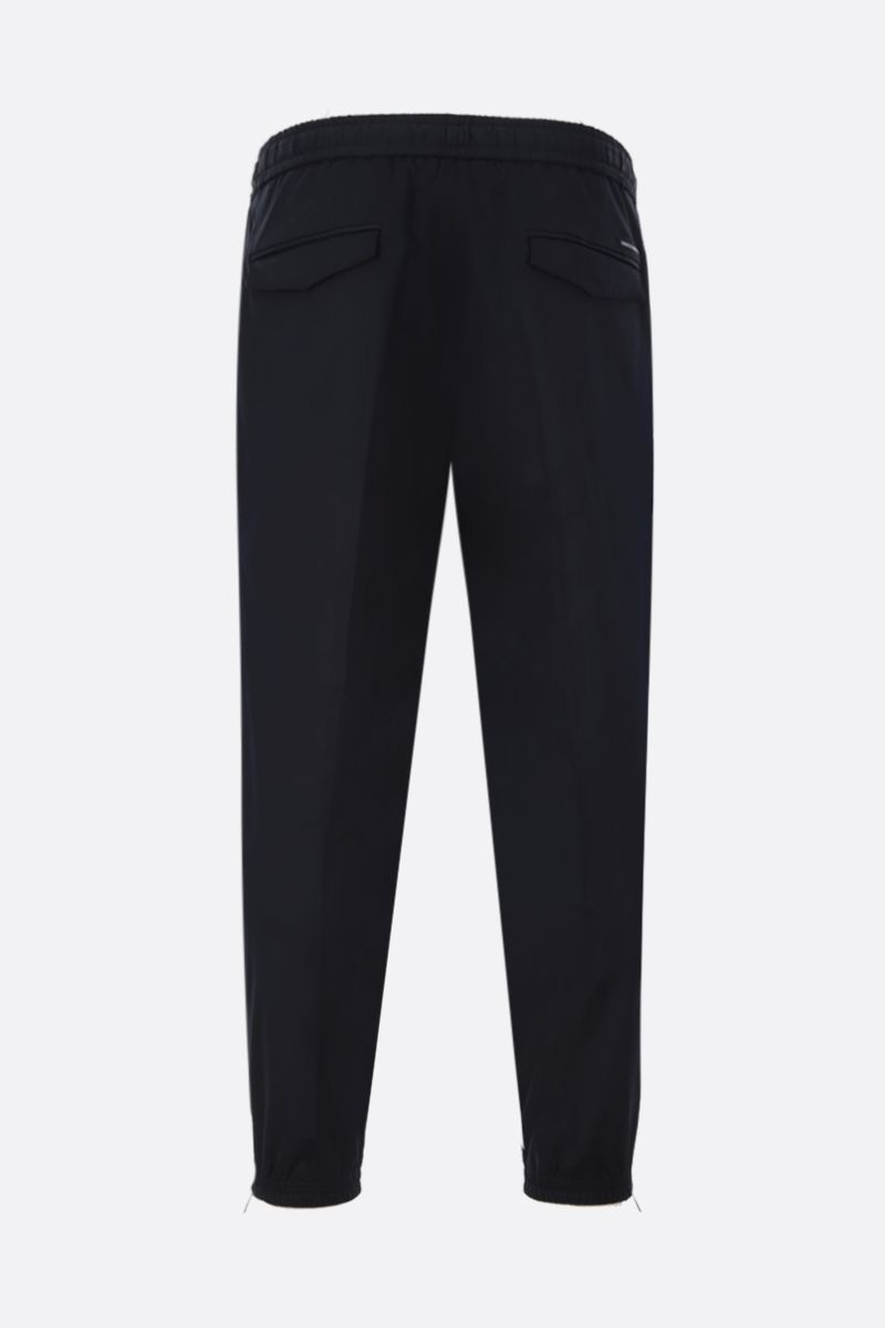DOLCE & GABBANA: technical fabric joggers Color Blue_2
