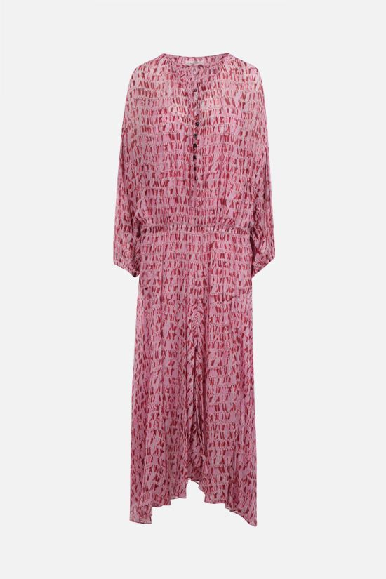 ISABEL MARANT ETOILE: Saureli georgette long dress Color Red_1