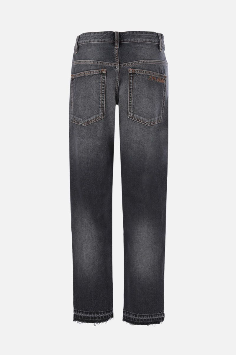 ISABEL MARANT ETOILE: Belden cropped jeans Color Grey_2