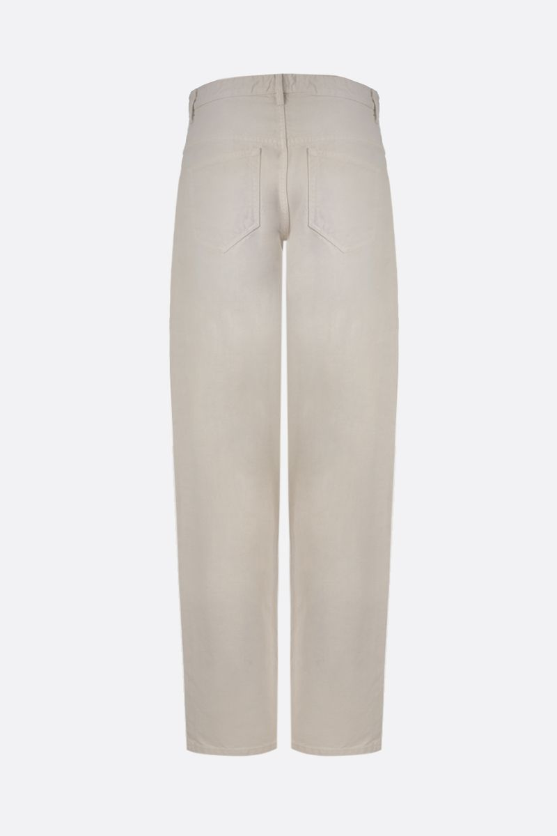 ISABEL MARANT ETOILE: Corsyc baggy-fit jeans Color Neutral_2