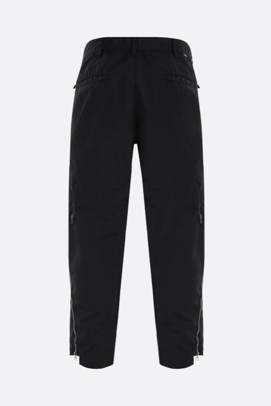 STONE ISLAND SHADOW PROJECT: zip-detailed nylon pants Color Black_2
