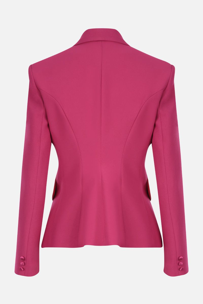 HEBE STUDIO: cady double-breasted jacket_2