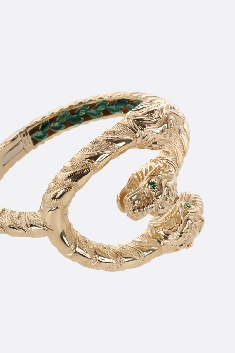 GUCCI: Dionysus yellow gold bracelet Color Gold_3