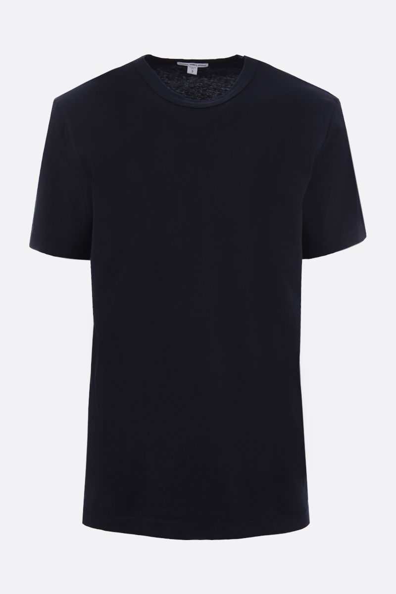 JAMES PERSE: t-shirt in jersey di cotone Colore Blu_1