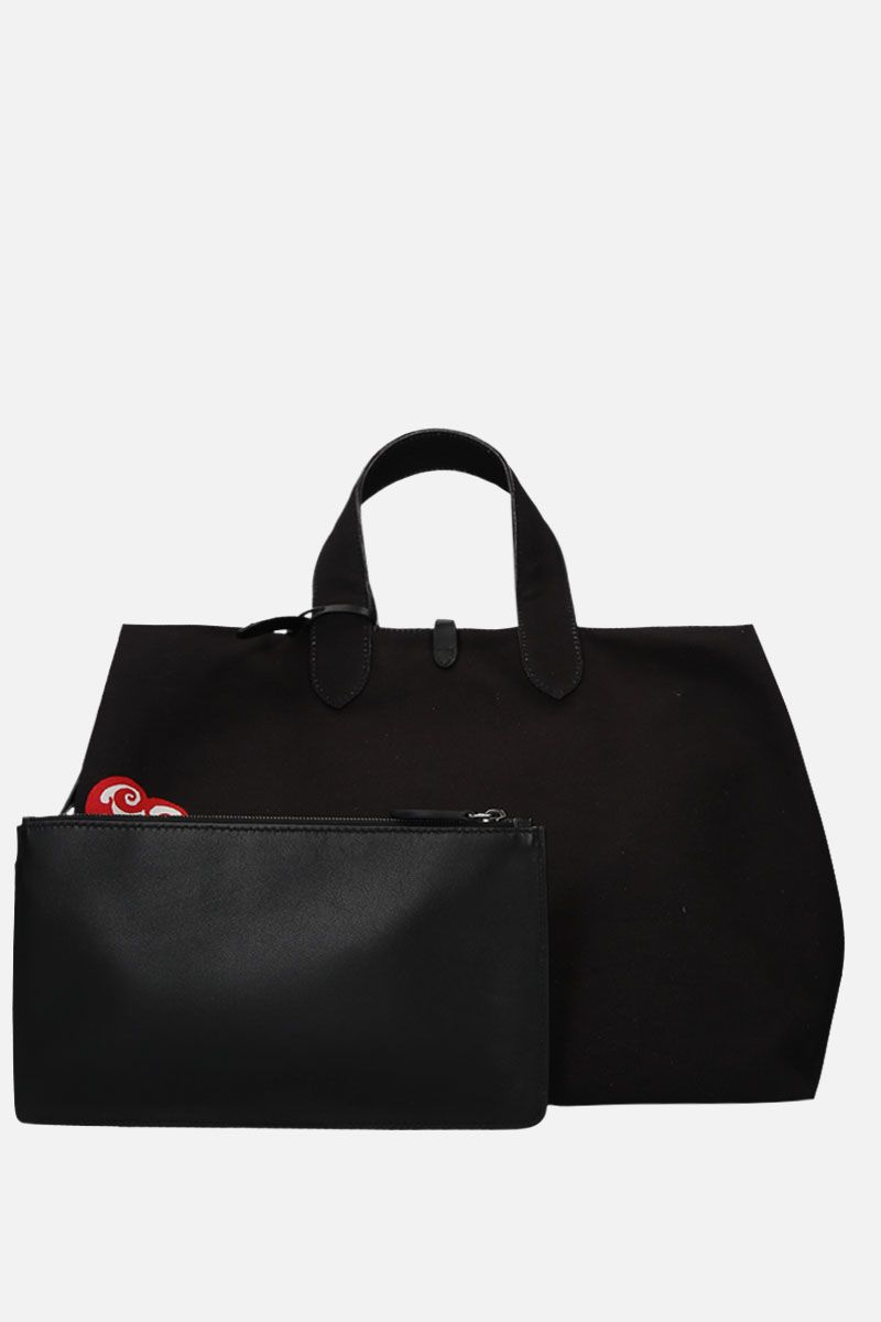 ALAIA: large Frida canvas tote Color Black_2