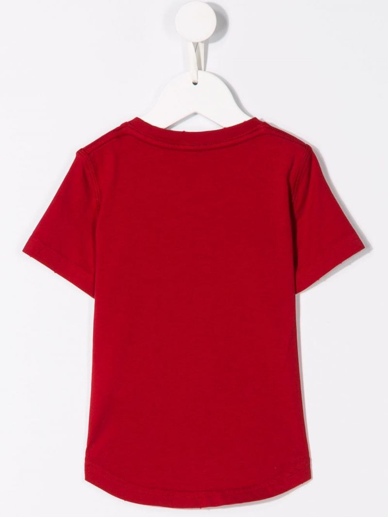DSQUARED2 KIDS: Icon jersey t-shirt Color Red_2