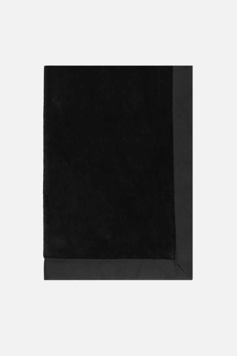 GIVENCHY: Givenchy Paris terry beach towel Color Black_1