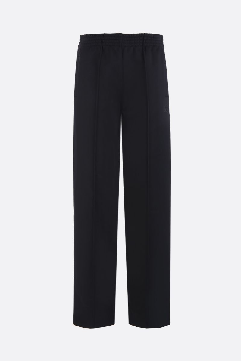 GIVENCHY: 4G embroidered jersey joggers Color Black_1