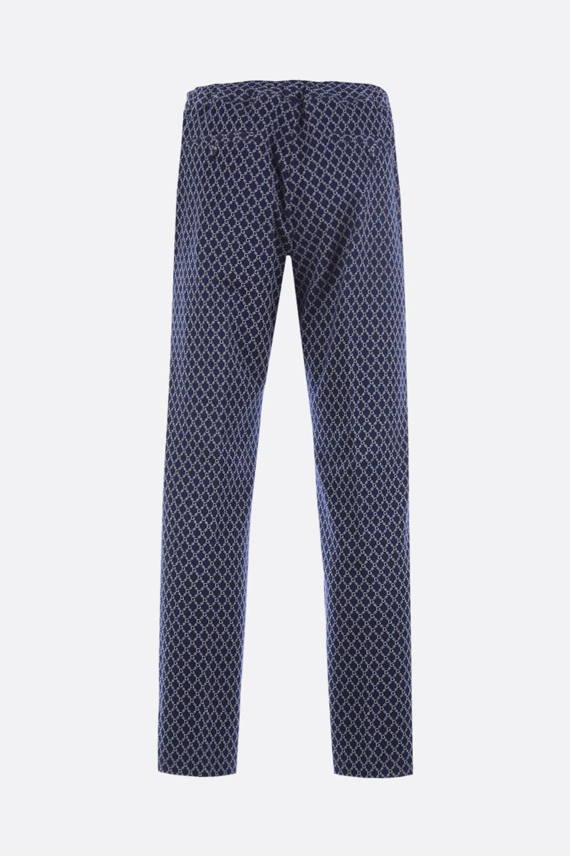 GUCCI: G Frame jersey joggers_3