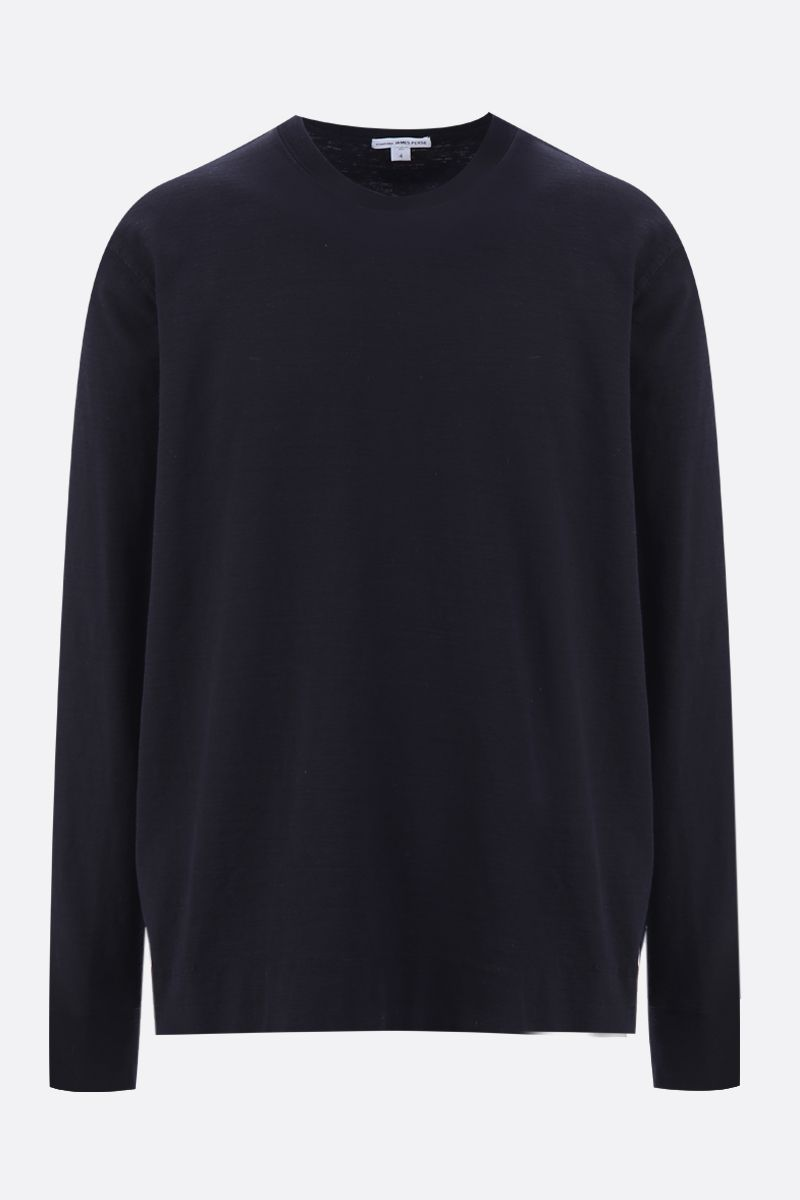 JAMES PERSE: cotton jersey sweatshirt Color Blue_1