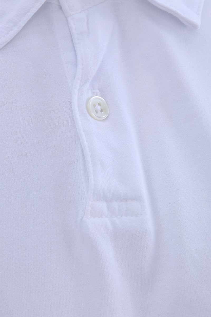 JAMES PERSE: cotton jersey polo shirt Color White_3