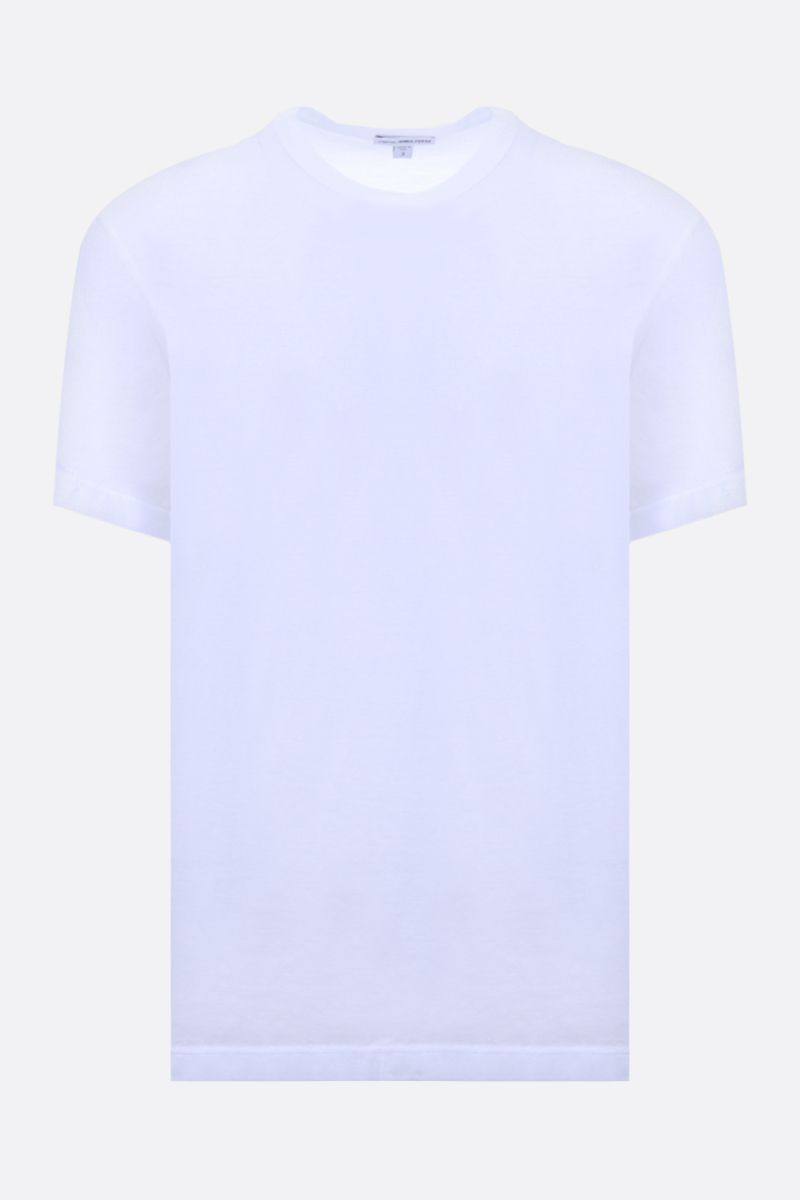 JAMES PERSE: t-shirt regular-fit in cotone Colore Bianco_1