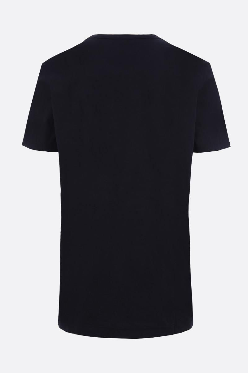 JAMES PERSE: T-shirt regular-fit in cotone Colore Blu_2