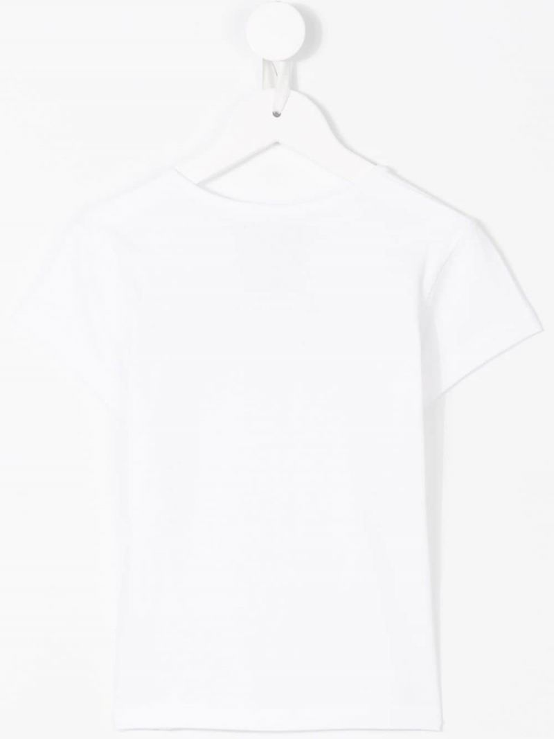 LEVI'S KIDS: t-shirt in jersey stampa logo Colore Bianco_2