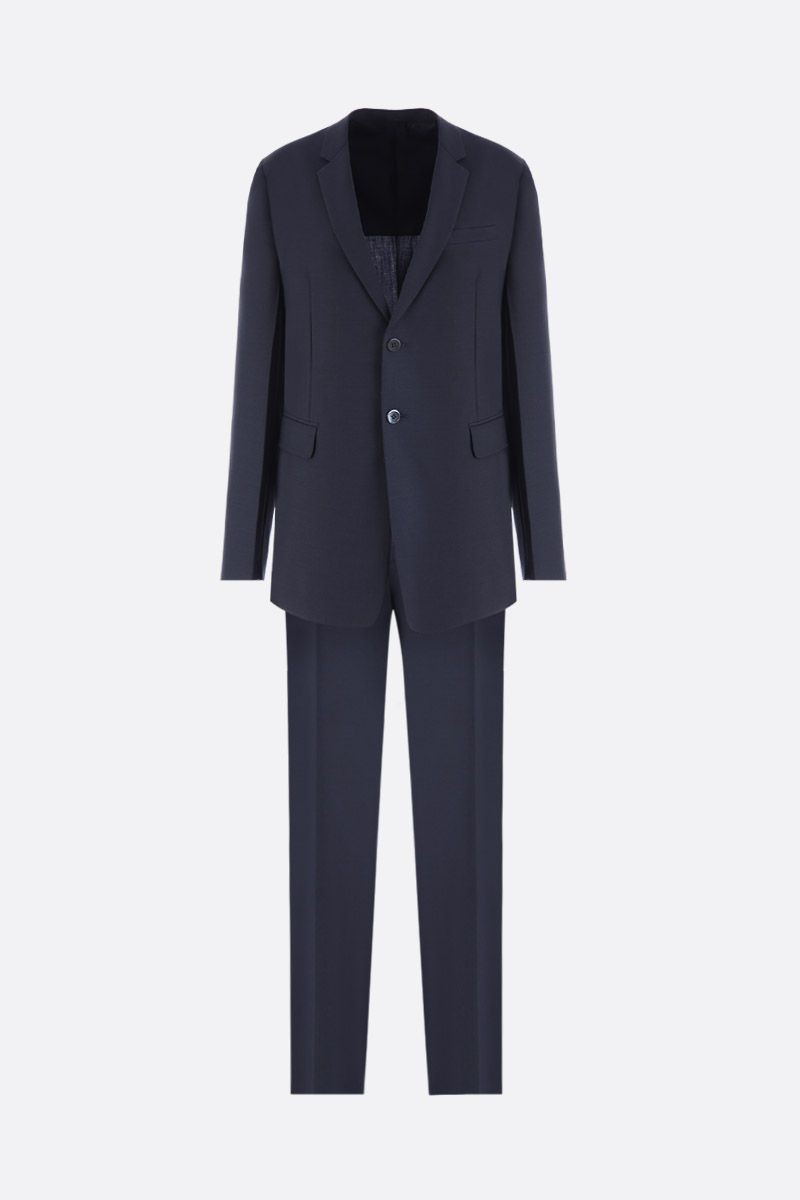 PRADA: wool and mohair two-pieces suit Color Grey_1