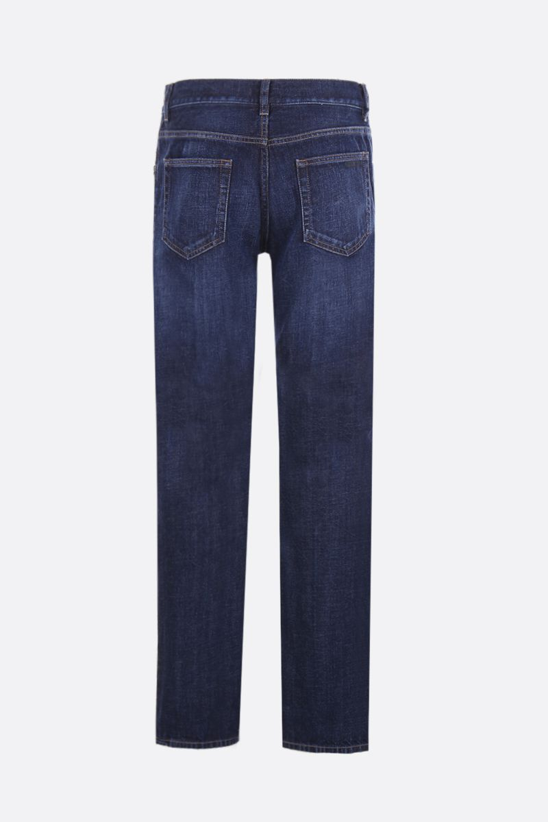 PRADA: tapered-fit jeans Color Blue_2