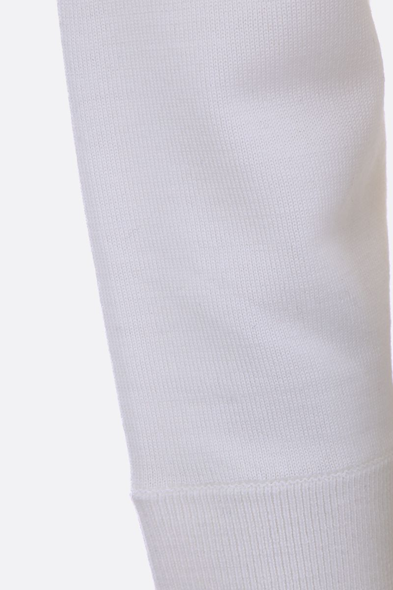 THEORY: merino wool pullover Color White_3