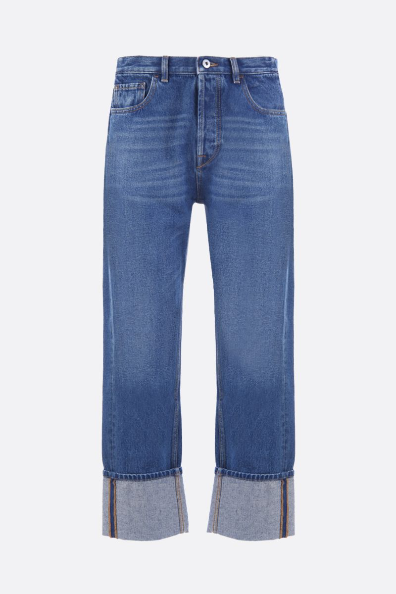 VALENTINO: VLTN straight-fit jeans Color Blue_1