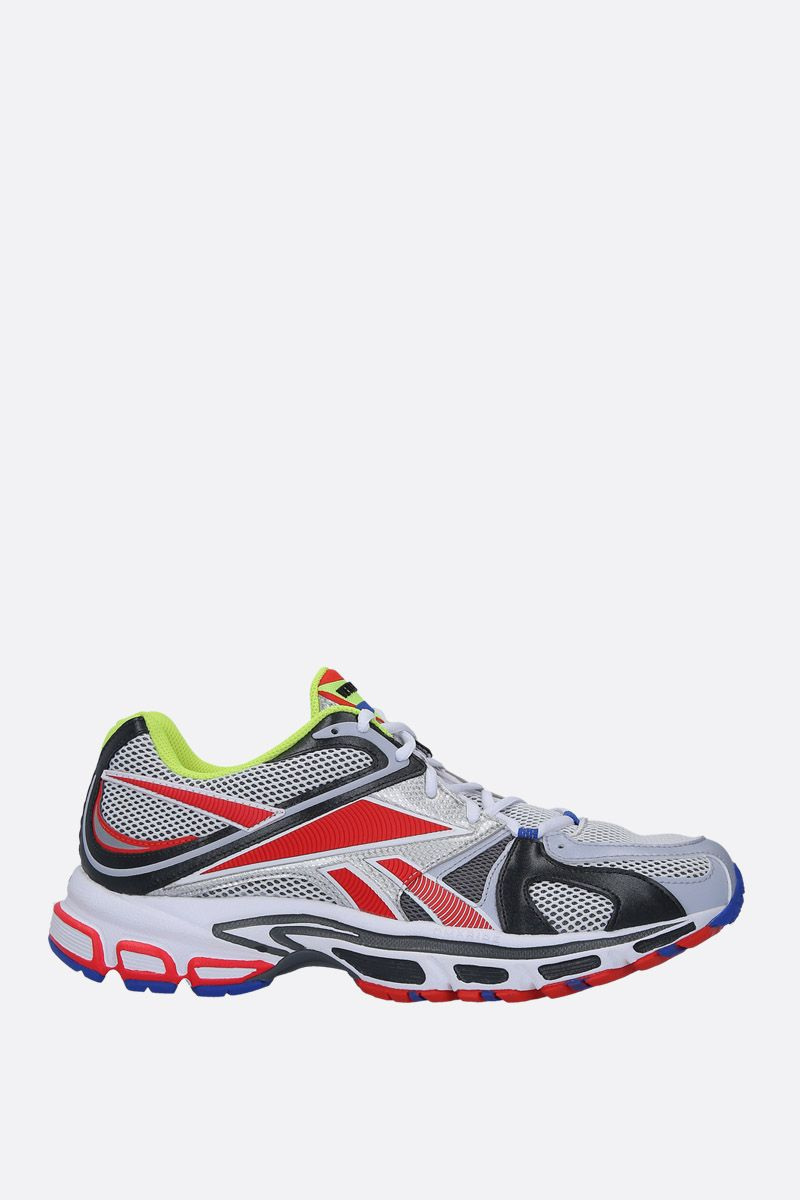 VETEMENTS: Spike Runner 200 sneakers in mesh and faux leather Color Multicolor_1