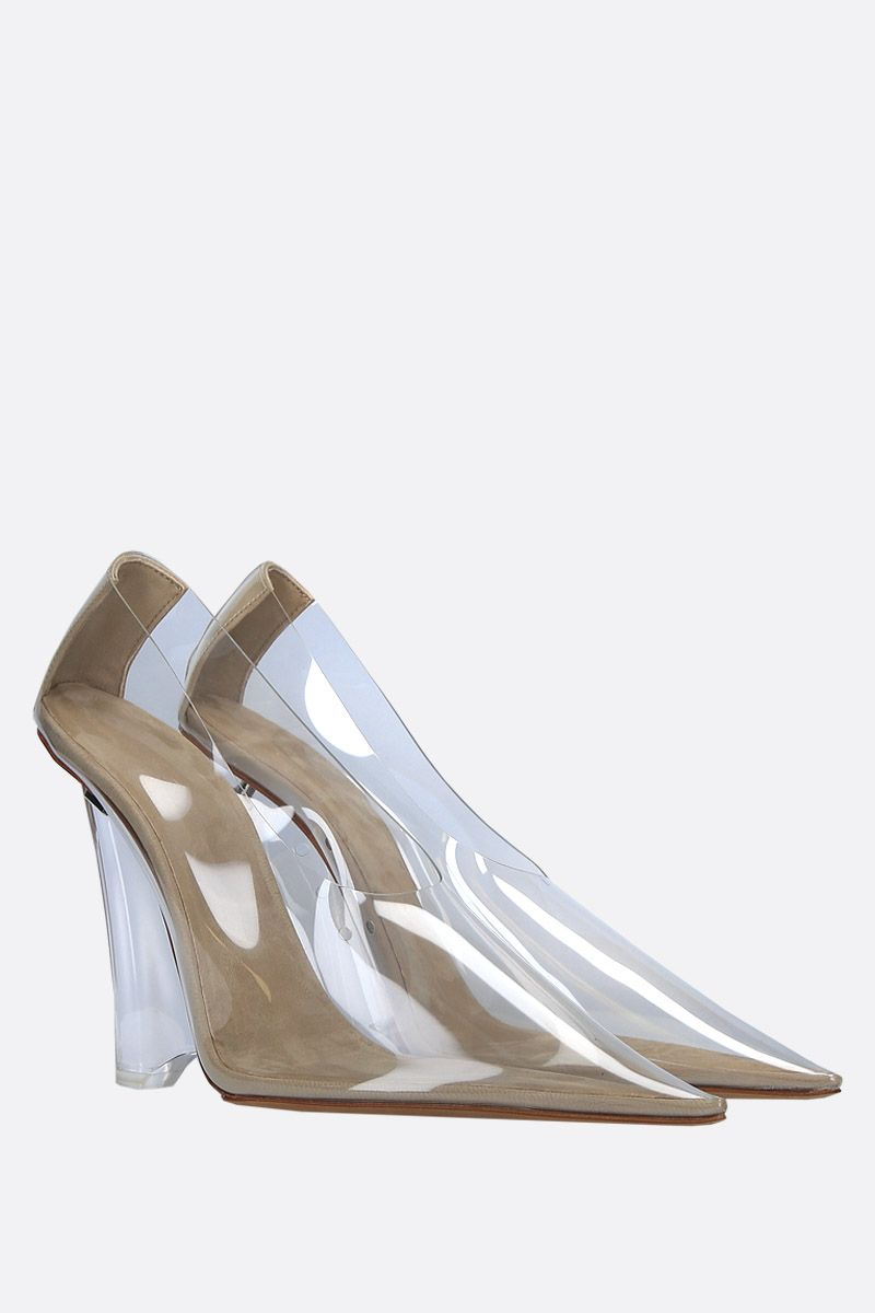 YEEZY: clear PVC wedge pumps Color Neutral_2