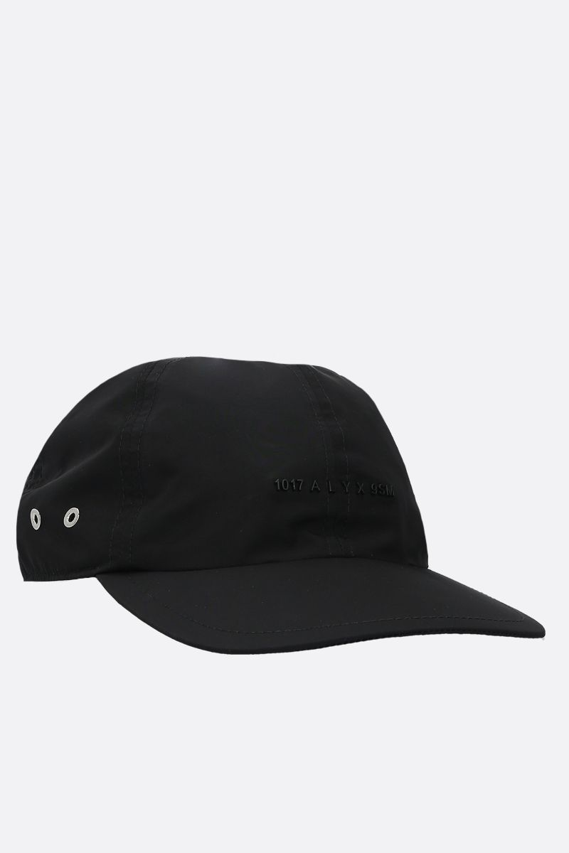 1017 ALYX 9SM: logo-detailed nylon baseball cap Color Black_2