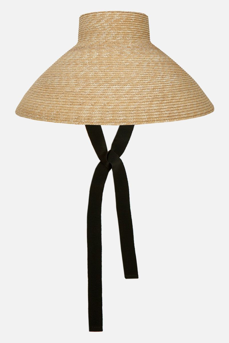 ALANUI: Vaso straw hat Color Neutral_1
