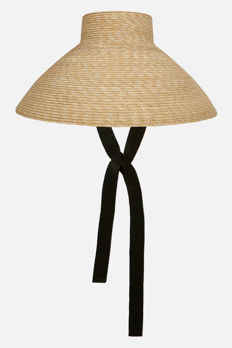 ALANUI: Vaso straw hat Color Neutral_2