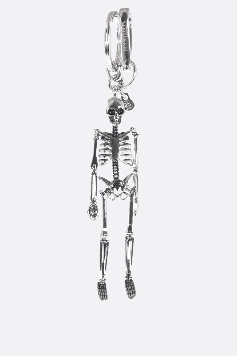 ALEXANDER McQUEEN: Skeleton metal key holder_1