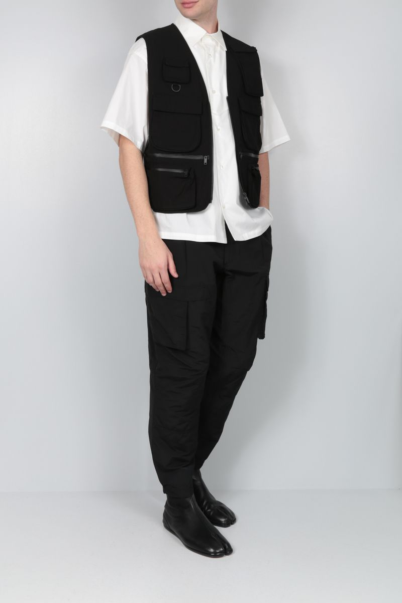 AMBUSH: oversize cotton short-sleeved shirt Color White_2