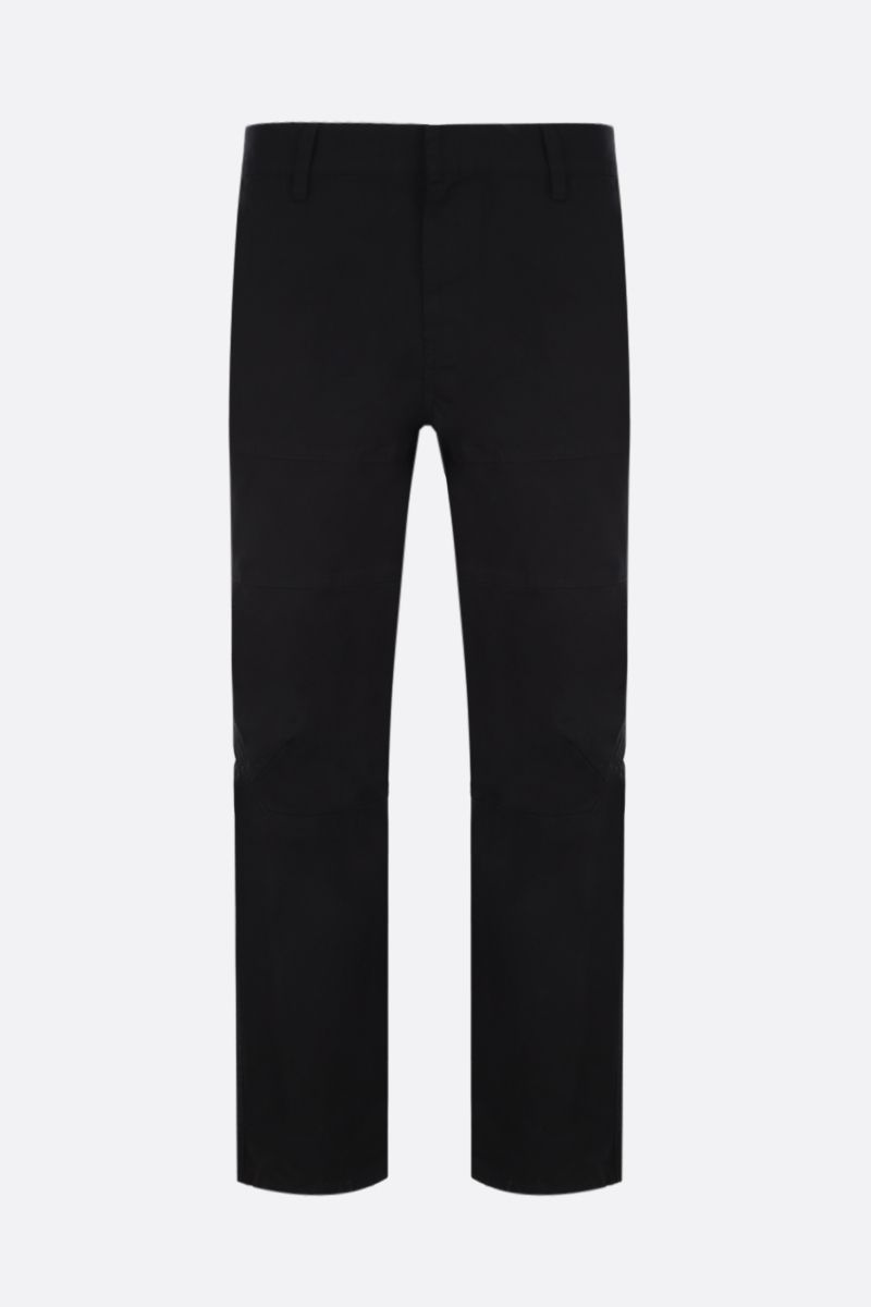AMBUSH: cotton panel cargo pants Color Black_1