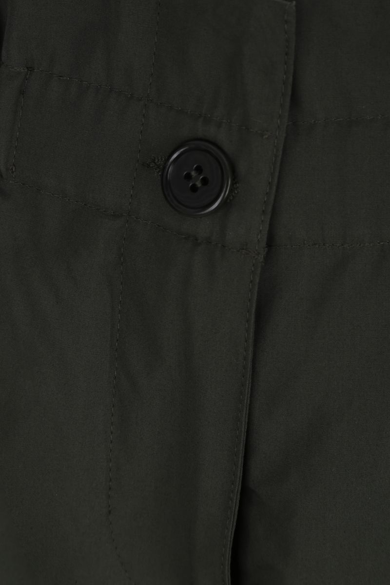 ASPESI: cotton poplin carrot-fit pants Color Green_4