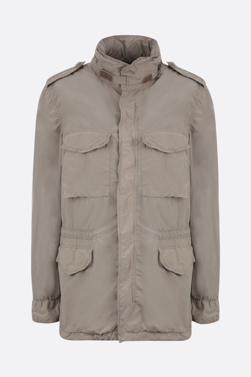 ASPESI: Replica technical fabric safari jacket Color Neutral_1